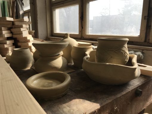 Мastering the pottery wheel