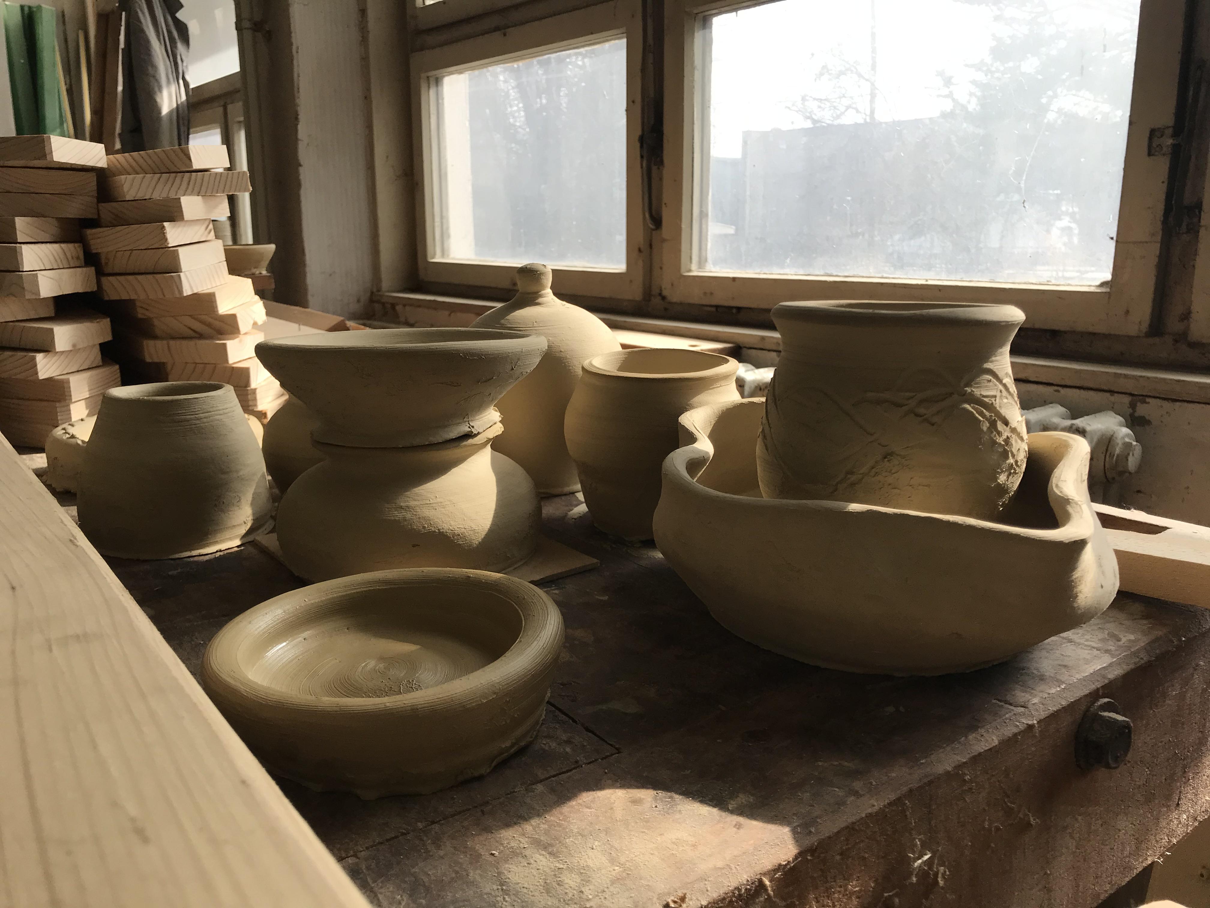 Mastering the pottery wheel